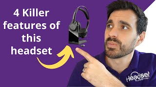 4 Killer features of the Plantronics Voyager Focus UC Bluetooth Wireless Headset