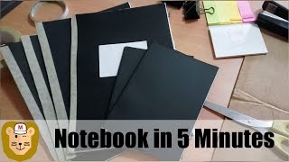 Recycled Paper Notebook in 5 Minutes!
