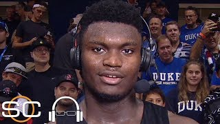 Zion Williamson on windmill dunk: I wanted to keep our energy high   SC with SVP