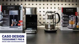 Test: CASO TeeGourmet Pro & HW 600Turbo Heißwasserspender