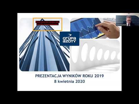 Prezentacja wyników za 2019 r. - zdjęcie