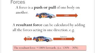 Acceleration and forces (GCSE flipped lesson)