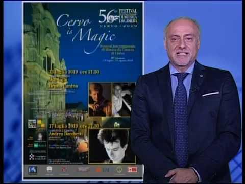 FESTIVAL DI CERVO: MERCOLEDI' 17 LUGLIO CONCERTO DI BENEFICENZA CON ANDREA BACCHETTI