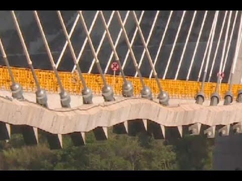 Por que se ve arrugado el puente Hisgaura | Noticias Caracol