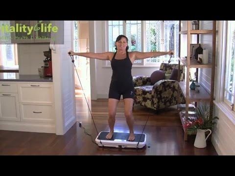 VibroSlim Vibration Platform Exercise Instructions