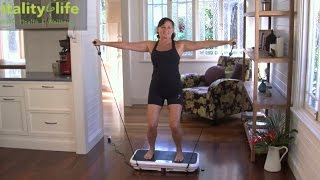 VibroSlim Vibration Platform Exercise Instructions