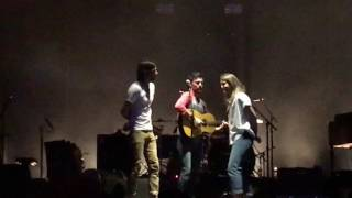 Murder in the City. Avett Brothers with Brandi Carlile. Avetts at the Beach, 2017.02.10