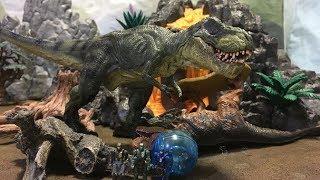 PAPO系ティラノサウルス レビュー◆パポ Schleich シュライヒT-Rex Tyrannosaurus ジュラシックワールド フィギュアJurassic World Toys Figures
