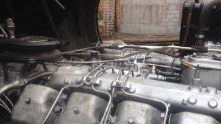 Перекрасили кузов Камаз!Решение проблемы с кольцом газового стыка.Трансформация тягача в самосвал.