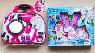 ĐỒ CHƠI TRANG ĐIỂM BÚP BÊ có son phấn, sơn móng tay, máy sấy, gương,... Make up toys (Chim Xinh)