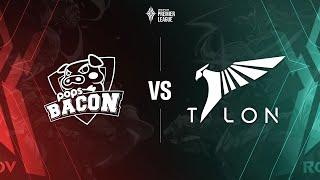POPS Bacon Time vs Talon Esports [Bảng A - 05.07.2020] - APL 2020