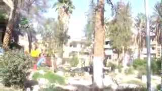 preview picture of video 'الحدائق العامة بدير الزور تمتلئ بقبور شهداء القصف البربري للنظام 27 أكتوبر، 2013'