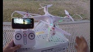 Syma X8 PRO GPS Meu Primeiro Review Excelente Opção