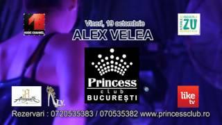 Promo Concert ALEX VELEA  PRINCESS CLUB