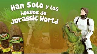 Han Solo descubre los huevos de Jurassic World