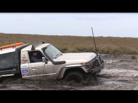 Drivetech 4X4 Kinetic Rope in Action