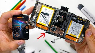 Lenovo Legion Duel 2 Teardown - Weve Never Seen This in a Phone!
