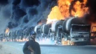 Russia attacks a Turkish Convoy on Syria Border
