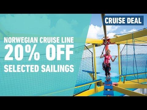 Norwegian Cruise Line 20% Off Cruise Sailings | Iglu Cruise