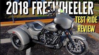 *CUSTOM* 2018 Harley-Davidson Freewheeler | Test Ride Review 12