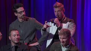 Grammy Museum Backstreet Boys Live Stream Q&A
