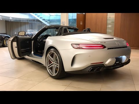 2020 Mercedes Benz AMG GTC Roadster Designo Iridium Silver MAGNO | In-Depth Video Walk Around