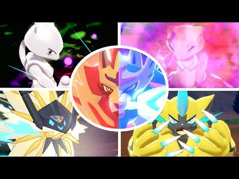 《Pokemon 劍/盾》傳說級寶可夢技能展示