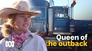 The roving cattle-mustering queen of the outback 🤠🐮 | Landlife | ABC Australia