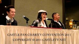 CastleCon 2011 : Jon Huertas & Tamala Jones Kiss