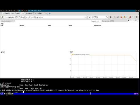 Realtime monitoring using riemann, syslog-ng, collectd and elasticsearch