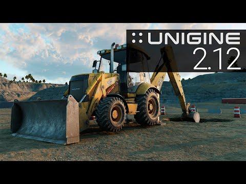 UNIGINE Engine 2.12 Release