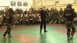 Рукопашный бой ВПЕ Витязь-контакт в Центре Специального Назначения