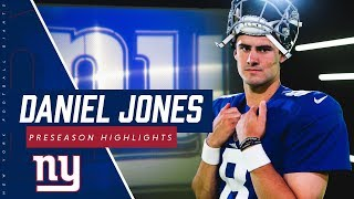 Daniel Jones named Giants starting QB   Watch preseason highlights
