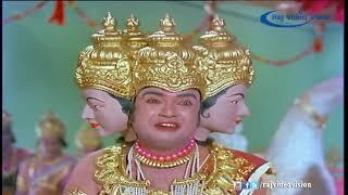 சனீஸ்வரனால் பிரம்மனின் தலையை பறித்து சாபம் வாங்கிய சிவபெருமான்
