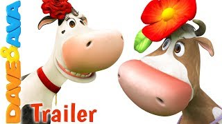 🐮The Cow Named Lola – Trailer | Nursery Rhymes and Kids Songs from Dave and Ava 🐮