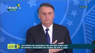 PARABÉNS PRESIDENTE BOLSONARO, DEVOLVEU O DIREITO DE DEFESA DO CIDADÃO DE BEM