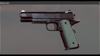 Colt 1911 Sound from Battlefield Hardline