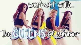 SISTAR(씨스타) _ TOUCH MY BODY Dance Workout by sarahkaypop