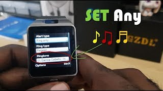 How to change Ringtone on DZ09 to any Music ♪♫♬