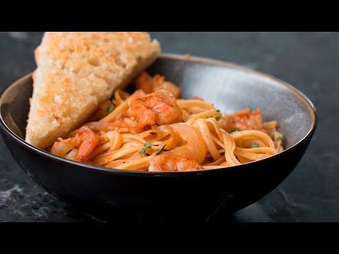 Paprika Shrimp Pasta