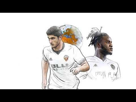 Animación del vídeo Prólogo en ingles para el Valencia CF