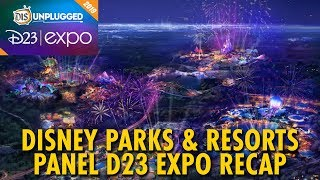 Disney Parks & Resorts Panel Recap | D23 Expo 2019