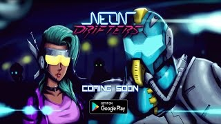 Neon Drifters Android Gameplay ᴴᴰ