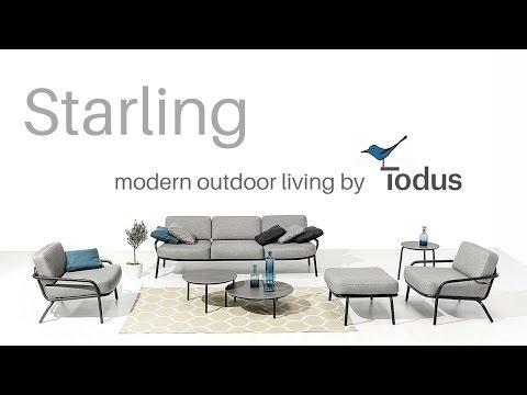 Design Gartenmöbel STARLING – Video Outdoormöbel aus Edelstahl