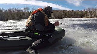 Ловля чертом и козой по первому льду