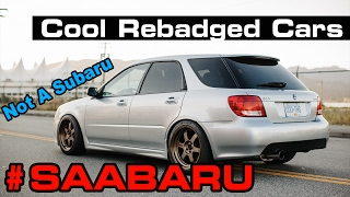 9 Cool Rebadged Cars You May Not Know About