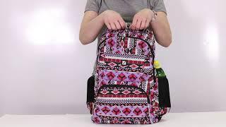 Рюкзак BRAUBERG для старшеклассников/<wbr/>студентов/<wbr/>молодежи, узоры, &laquo;Фигуры&raquo;, 27 литров, 47&times;32&times;14 см, 226353