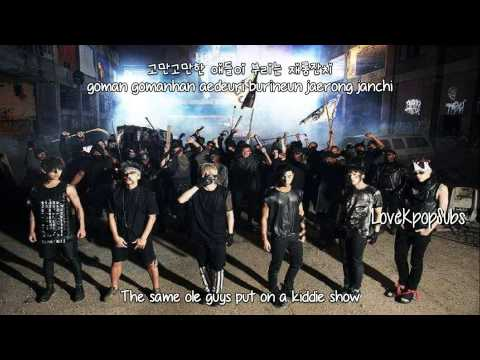 B.A.P - Whut's Poppin [English subs + Romanization + Hangul] HD