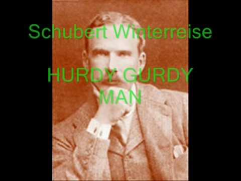 HARRY PLUNKET GREEN - 1934 HURDY GURDY MAN - SCHUBERT Der Leiermann -  Wintterreise