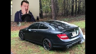 This Mercedes C63 AMG Is For Sale Stupid Cheap but Has a CRAZY Backstory